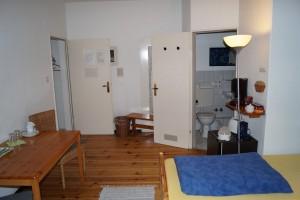 Twin-Zimmer-Dusche